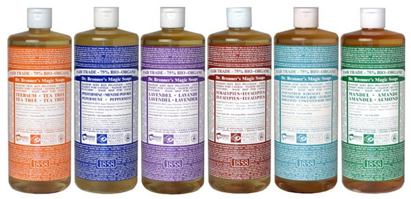 Top 10 Uses for Dr. Bronner's Castile Soap