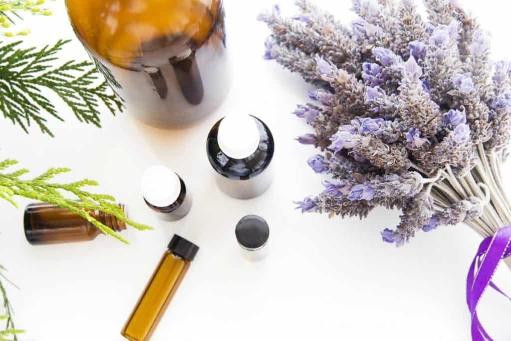 DIY Homemade Beauty products essential oils lavender