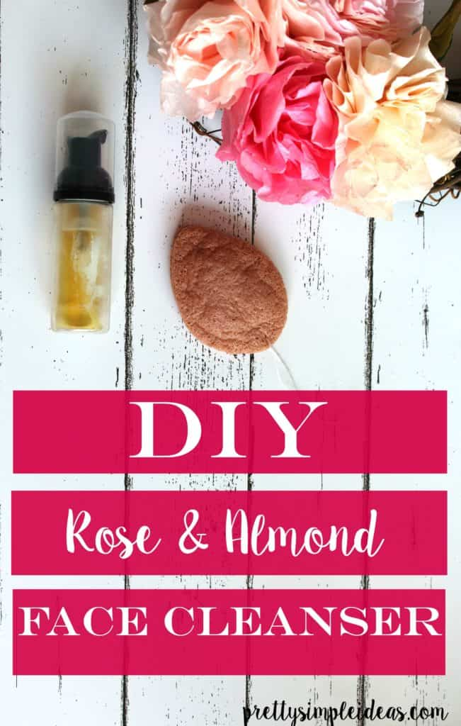 DIY Rose & Almond Face Cleanser