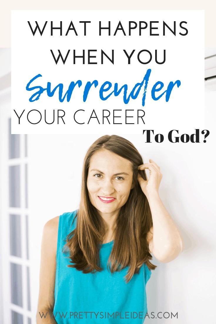 Career Advice _ surrender career to God