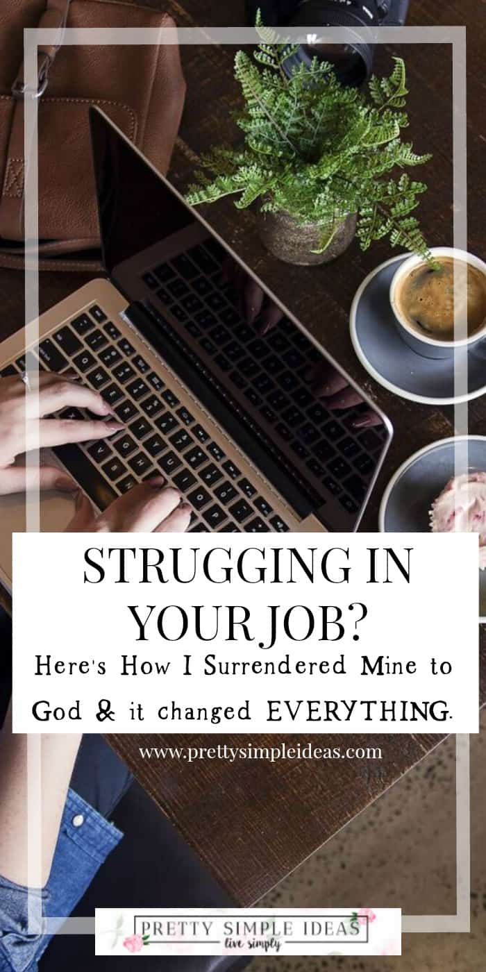 Learning to Surrender My Career to God
