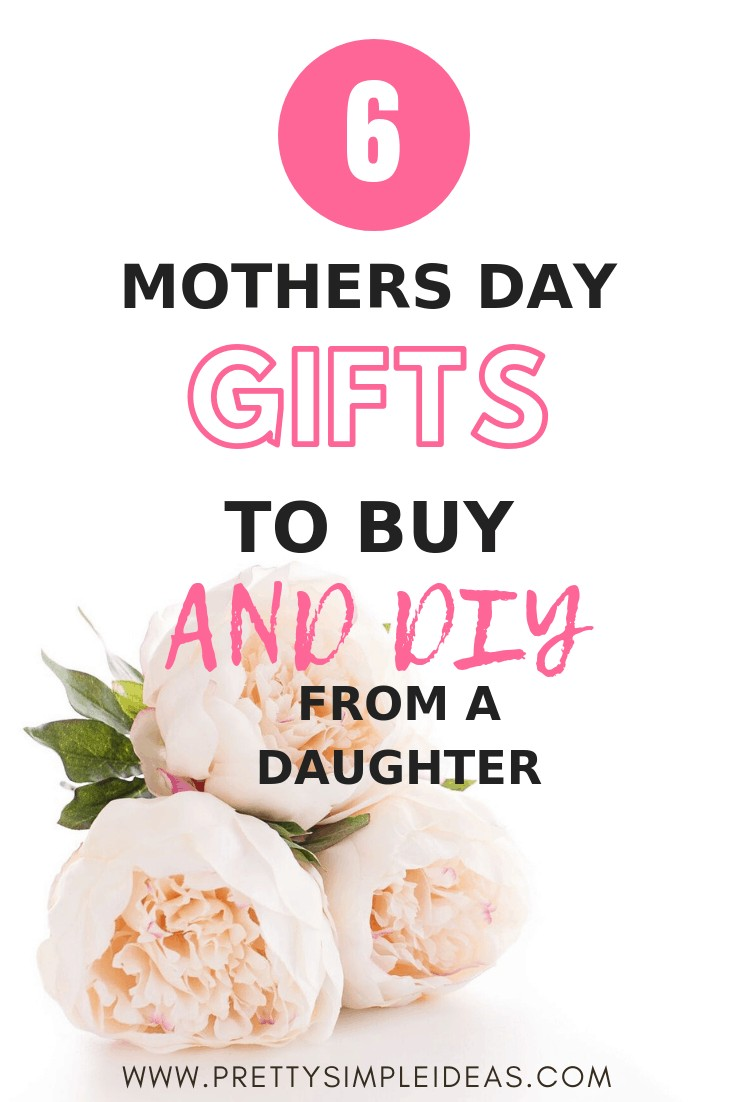 Mother's Day Gift Ideas to Buy and DIY