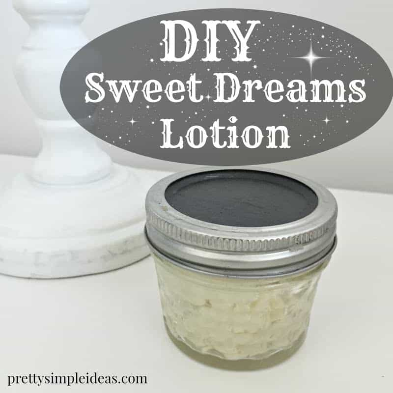 DIY Lotion to Fall Asleep Quick