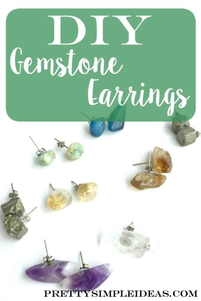 DIY Gemstone Earrings