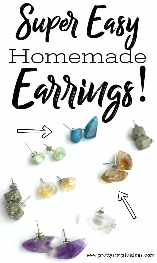 Easy Homemade DIY Earrings Tutorial