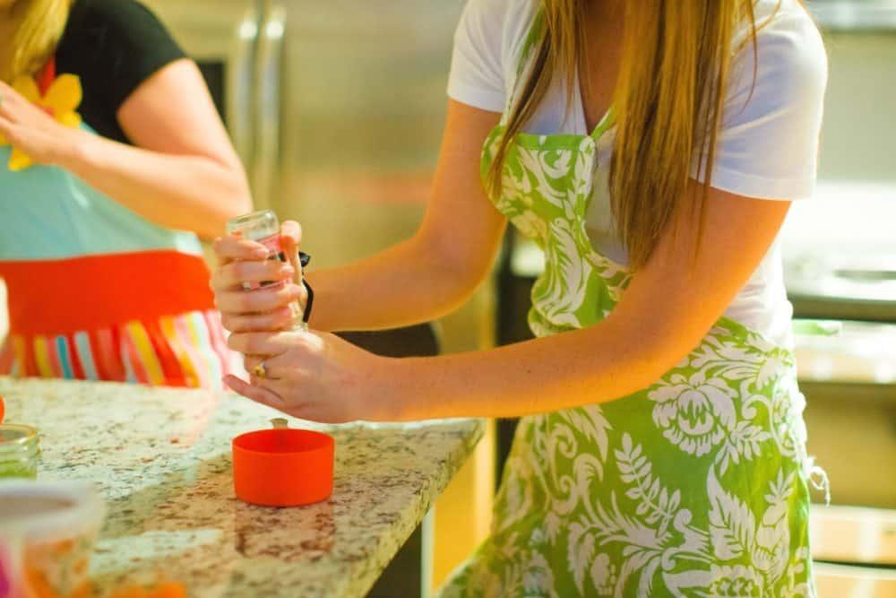 DIY Lush Salt Scrub | Pretty Simple Ideas