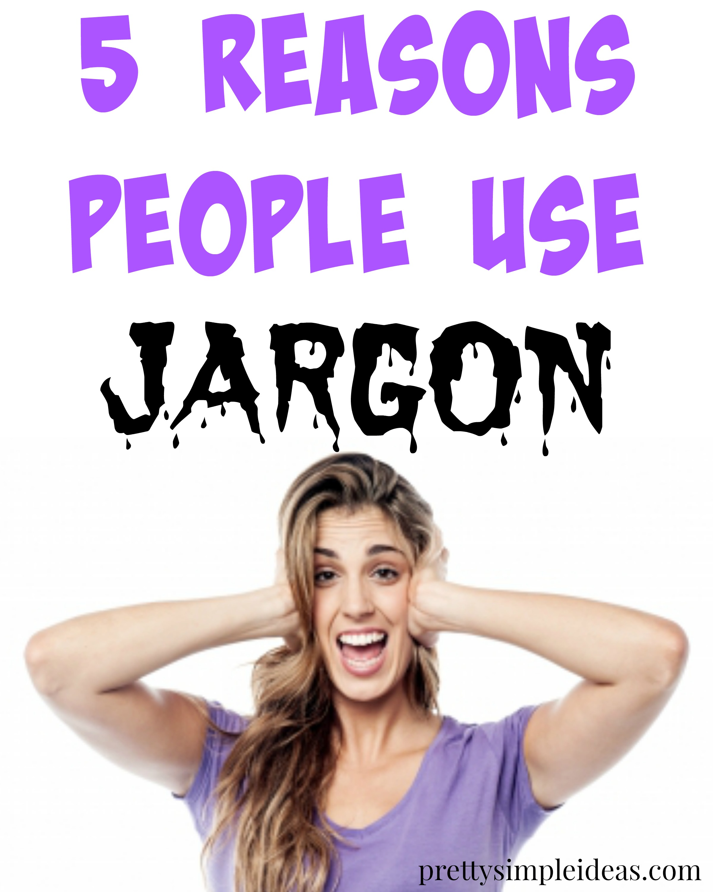 use jargon
