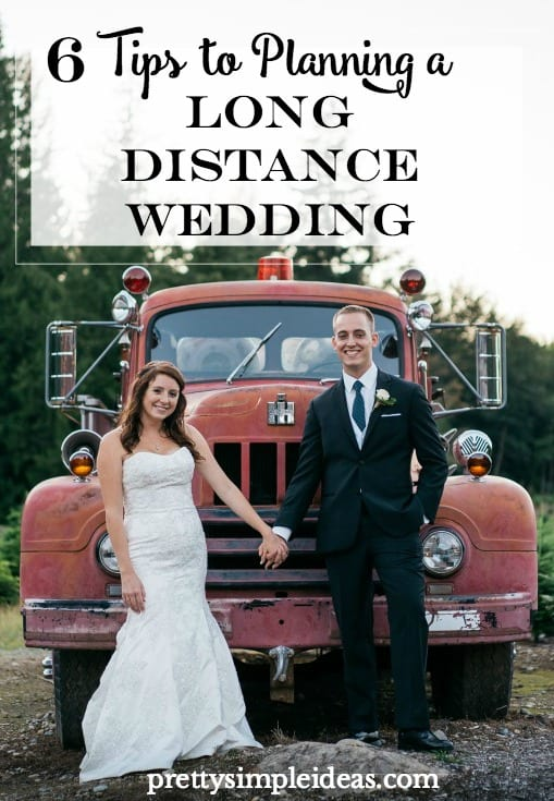 6 tips to planning a long distance wedding