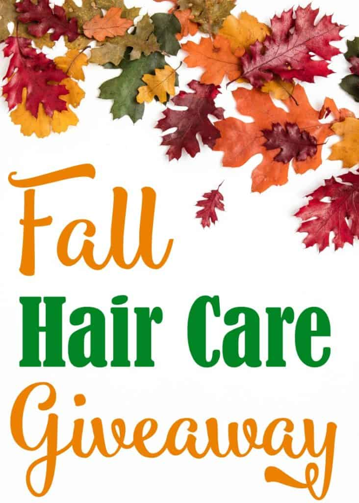 Fall Hair Care Giveaway