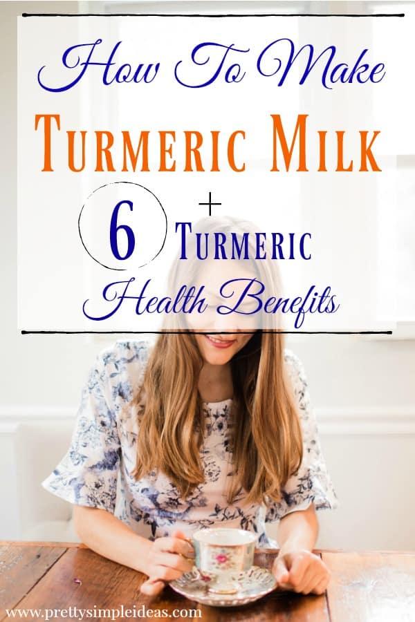 How To Make Turmeric Milk Turmeric Milk Recipe Turmeric Health Benefits