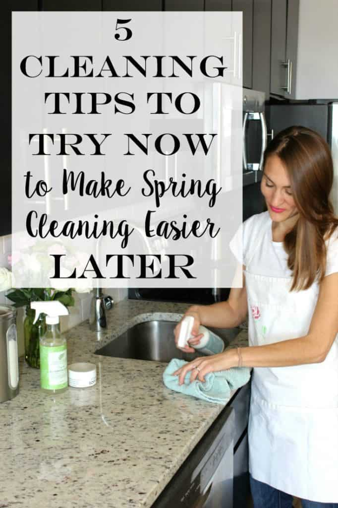 5 Cleaning Tips to Try Now