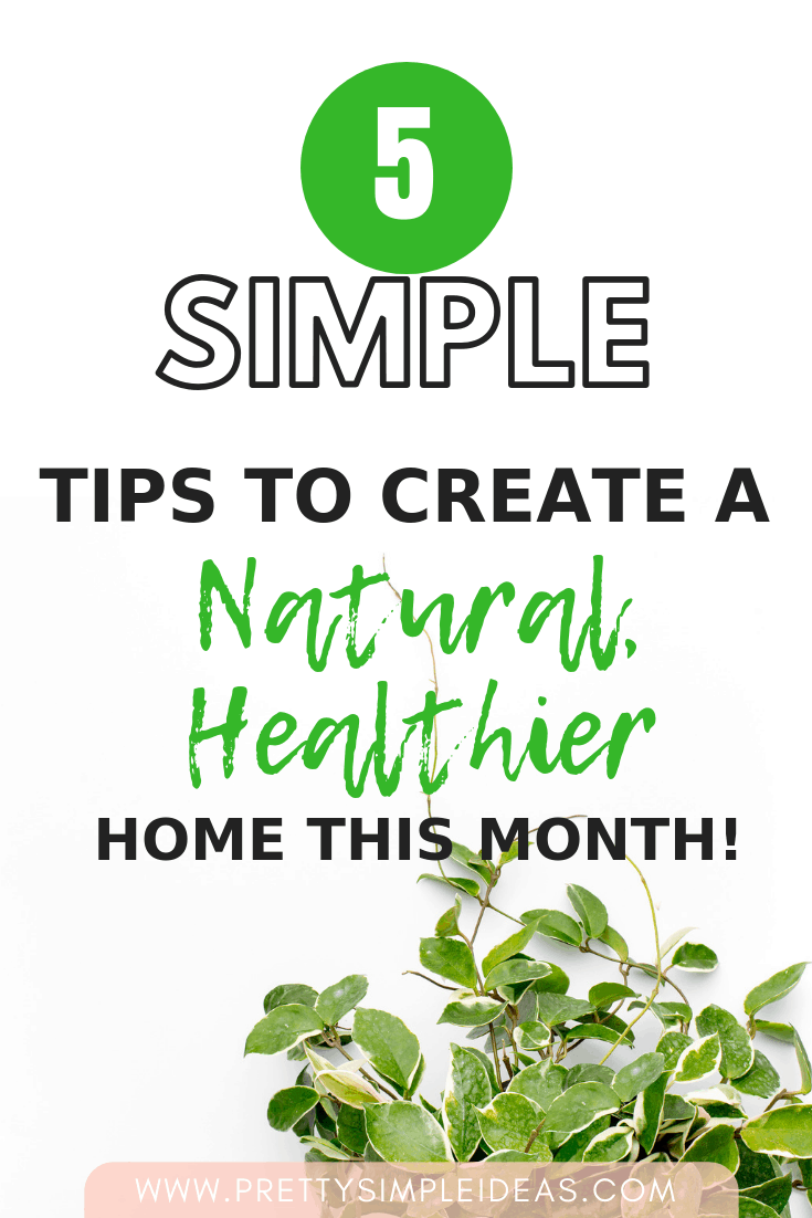 "5 Ways to ""Go"" Green in Your Home this Month!"