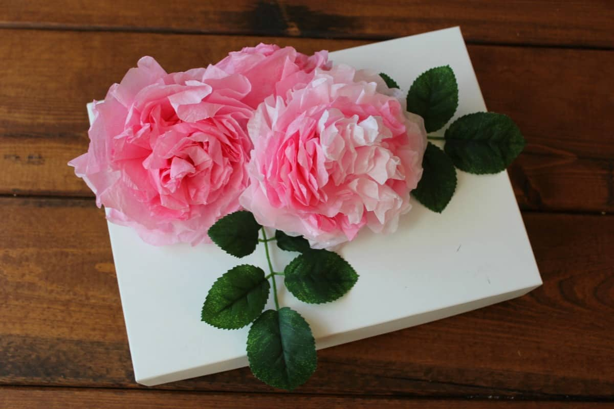 DIY Coffee Filter Flowers 2