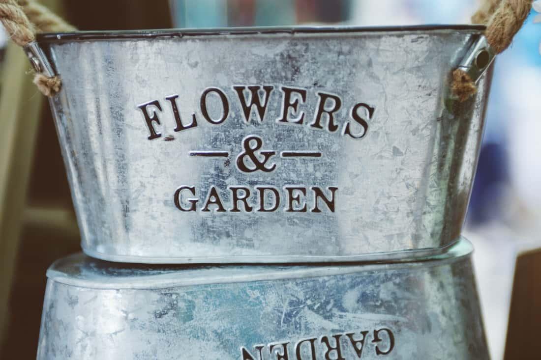 Simple Container Garden
