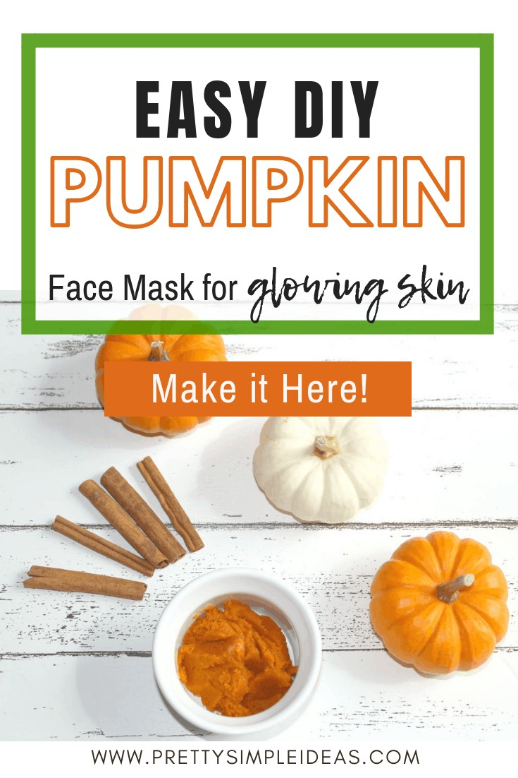 DIY Pumpkin Face mask _ DIY face mask _ glowing skin