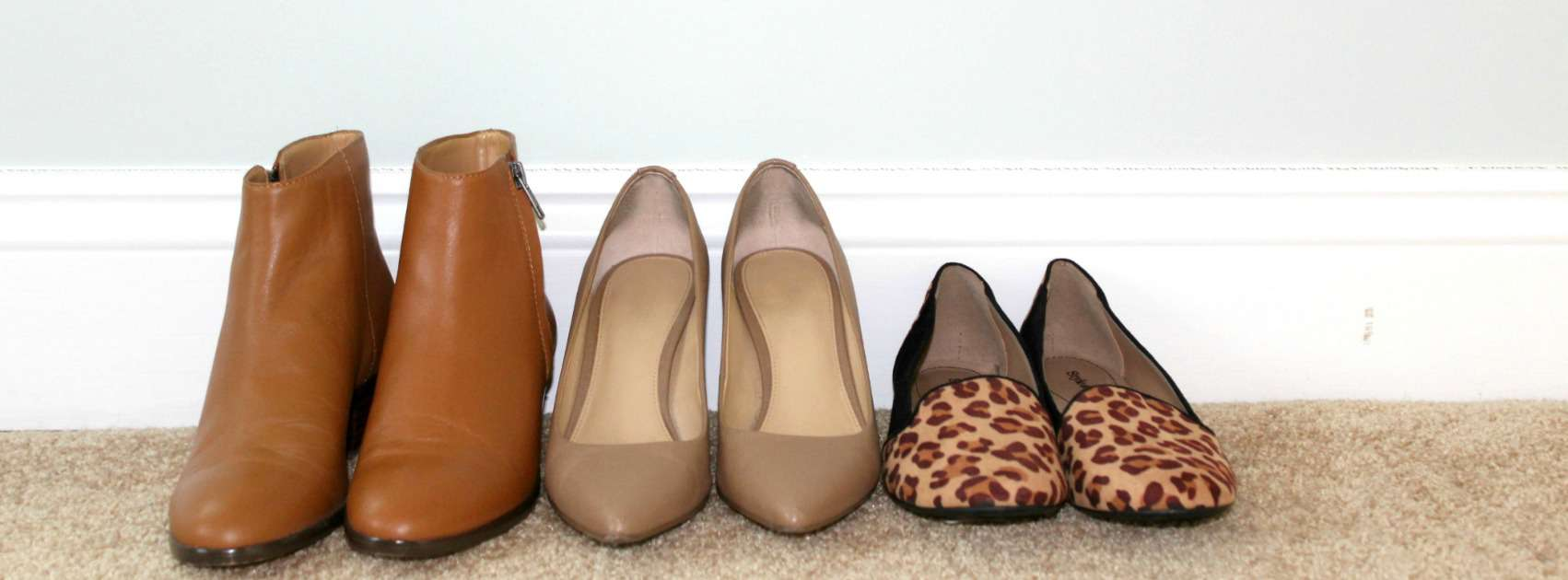 First Capsule Wardrobe Shoes