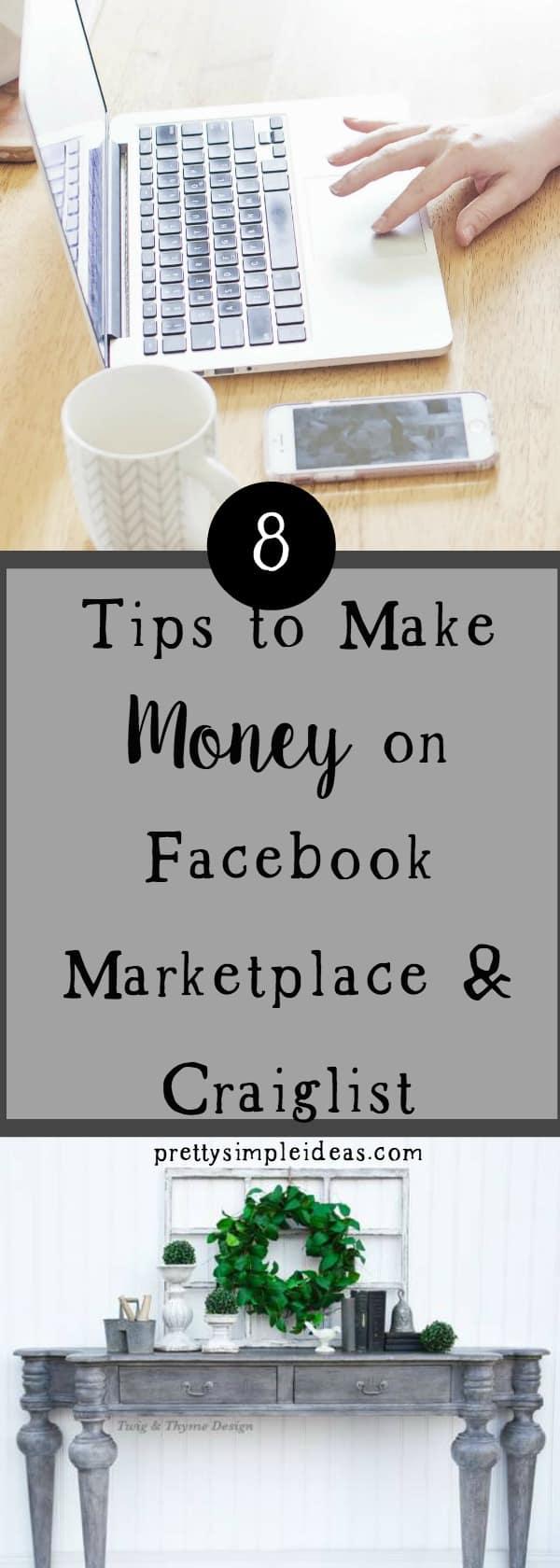 make money on facebook marketplace craigslist