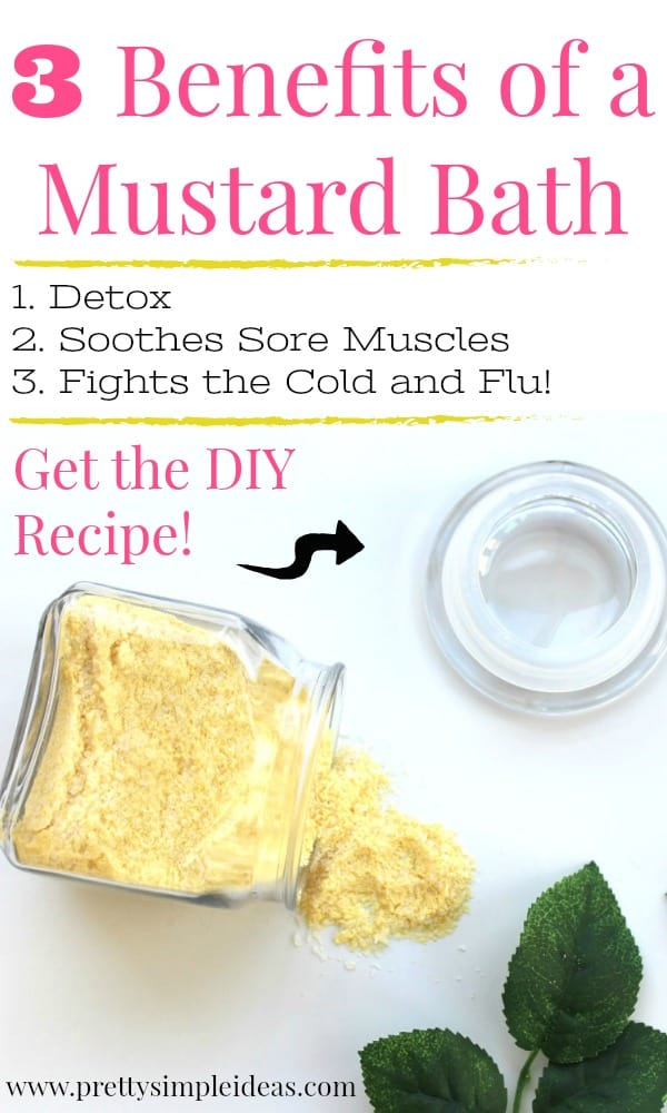 Benefits of Mustard Bath Fights Cold and Flu DIY Recipe