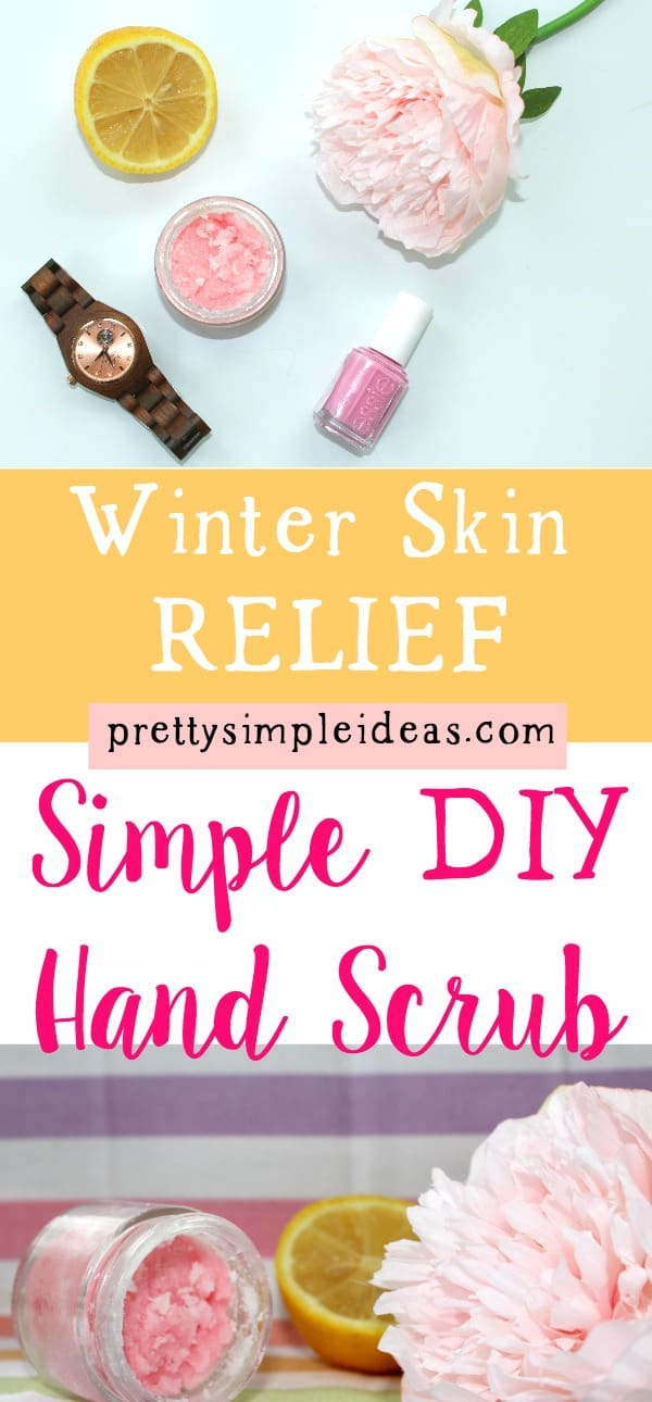 Simple DIY Hand Scrub