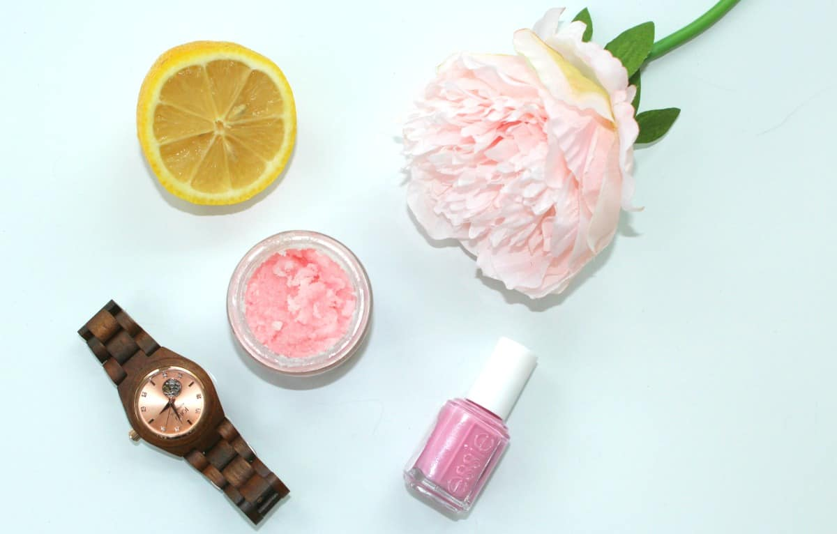 Simple DIY hand Scrub wooden watches