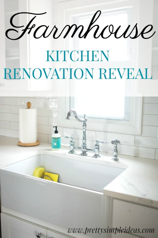 Farmhouse Kitchen Renovation Reveal