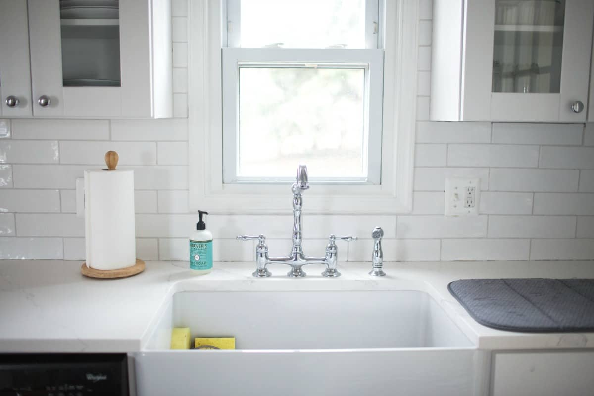 Farmhouse Sink Farmhouse Kitchen Renovation