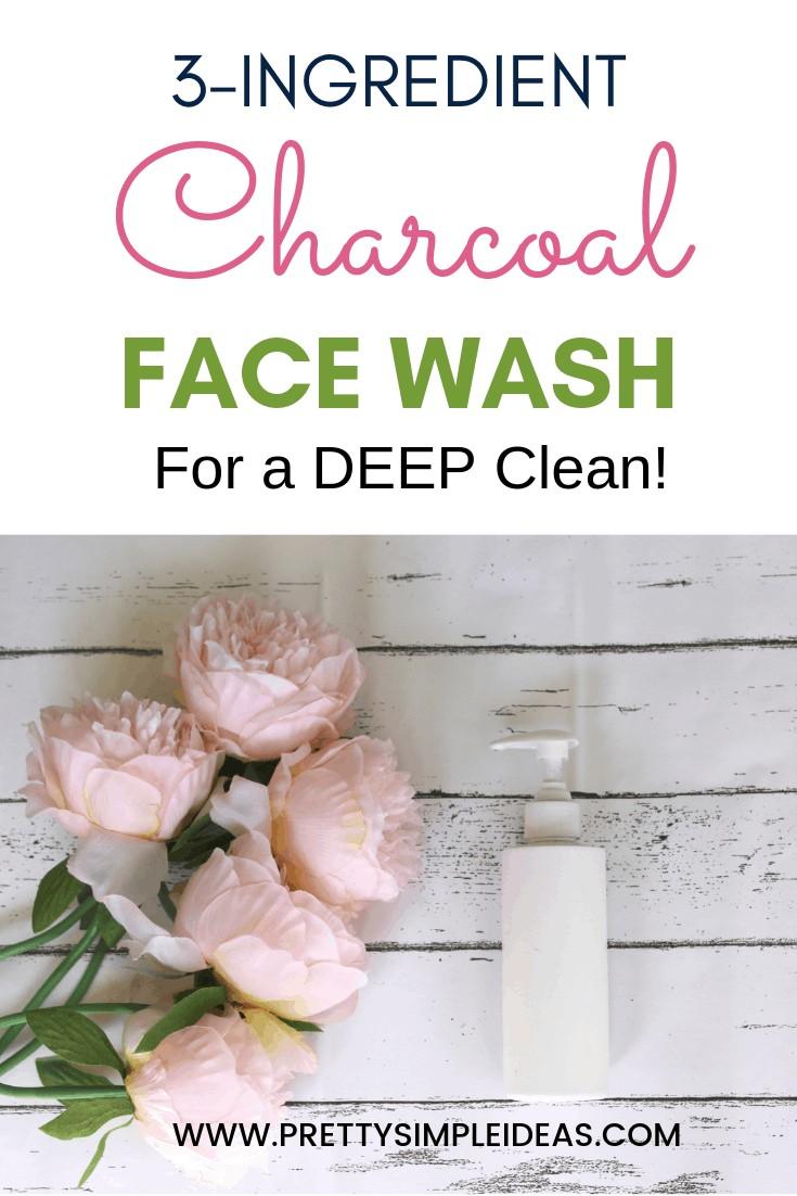DIY Charcoal FACE WASH