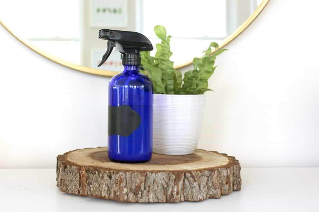 Homemade Simple DIY Hair Mist Recipe with Essential Oils