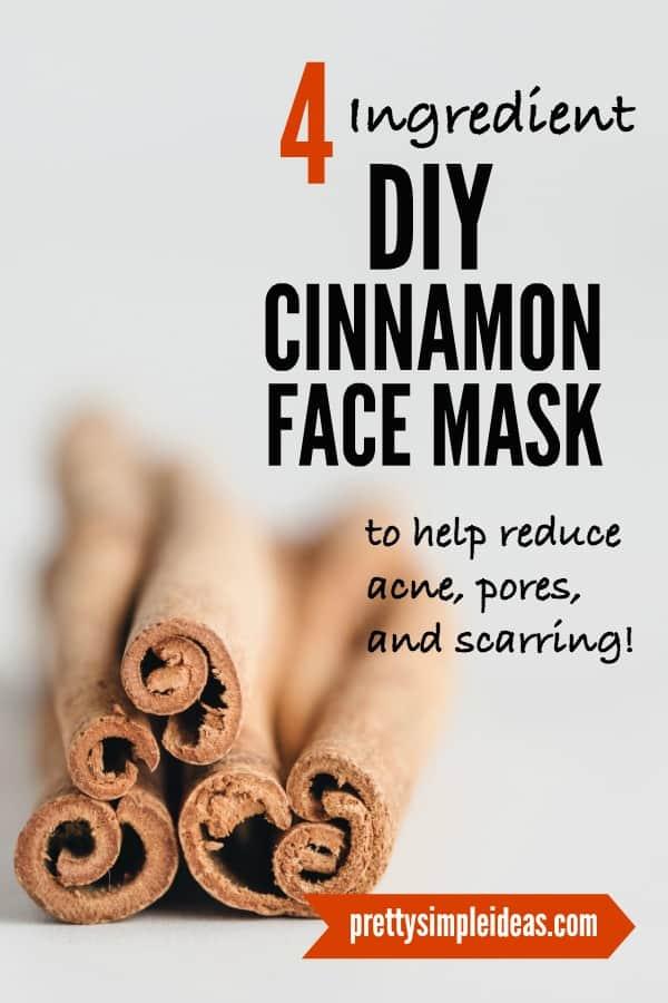 4-Ingredient DIY Cinnamon Face Mask