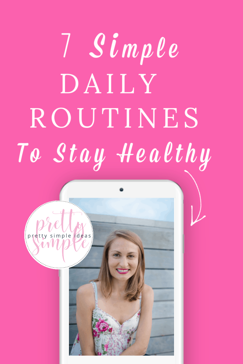 Simple Daily Routines to Stay Healthy This Week!