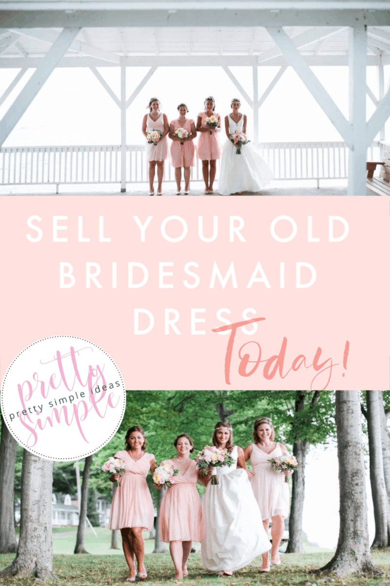 sell bridesmaid dresses or donate