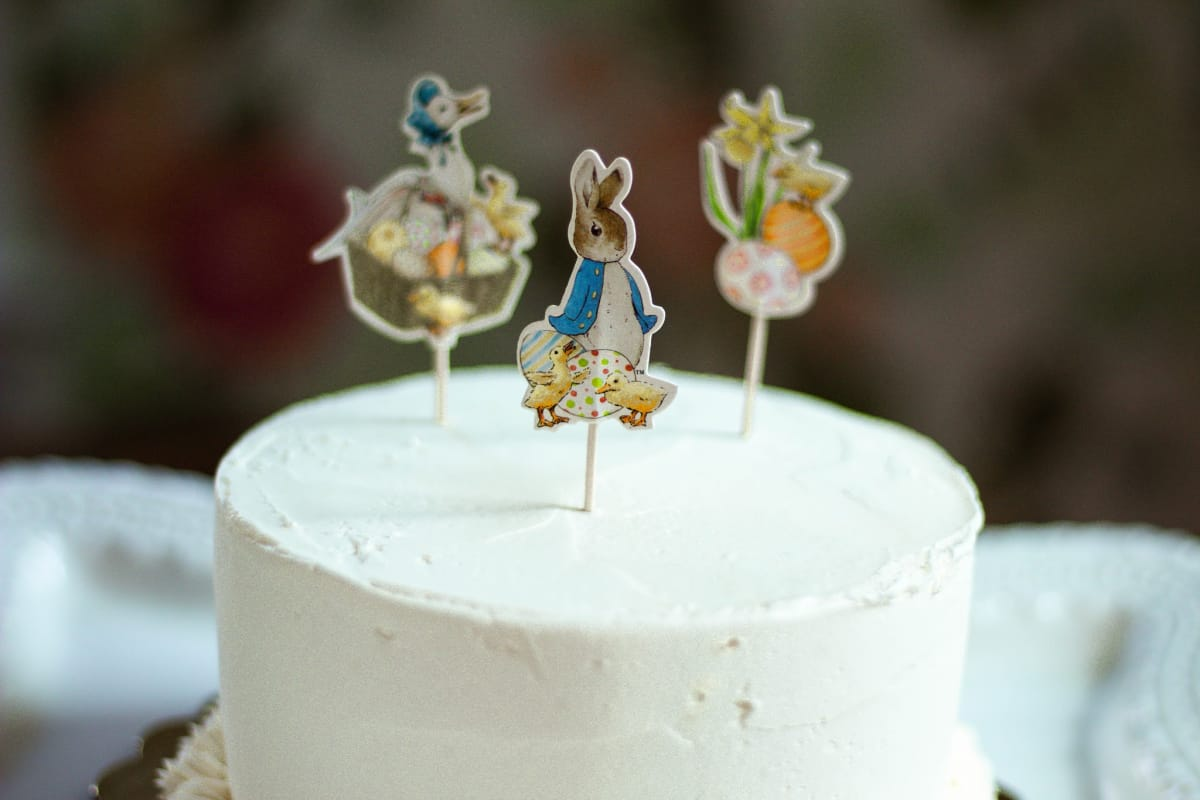Peter Rabbit Birthday Party Ideas Carrot cake