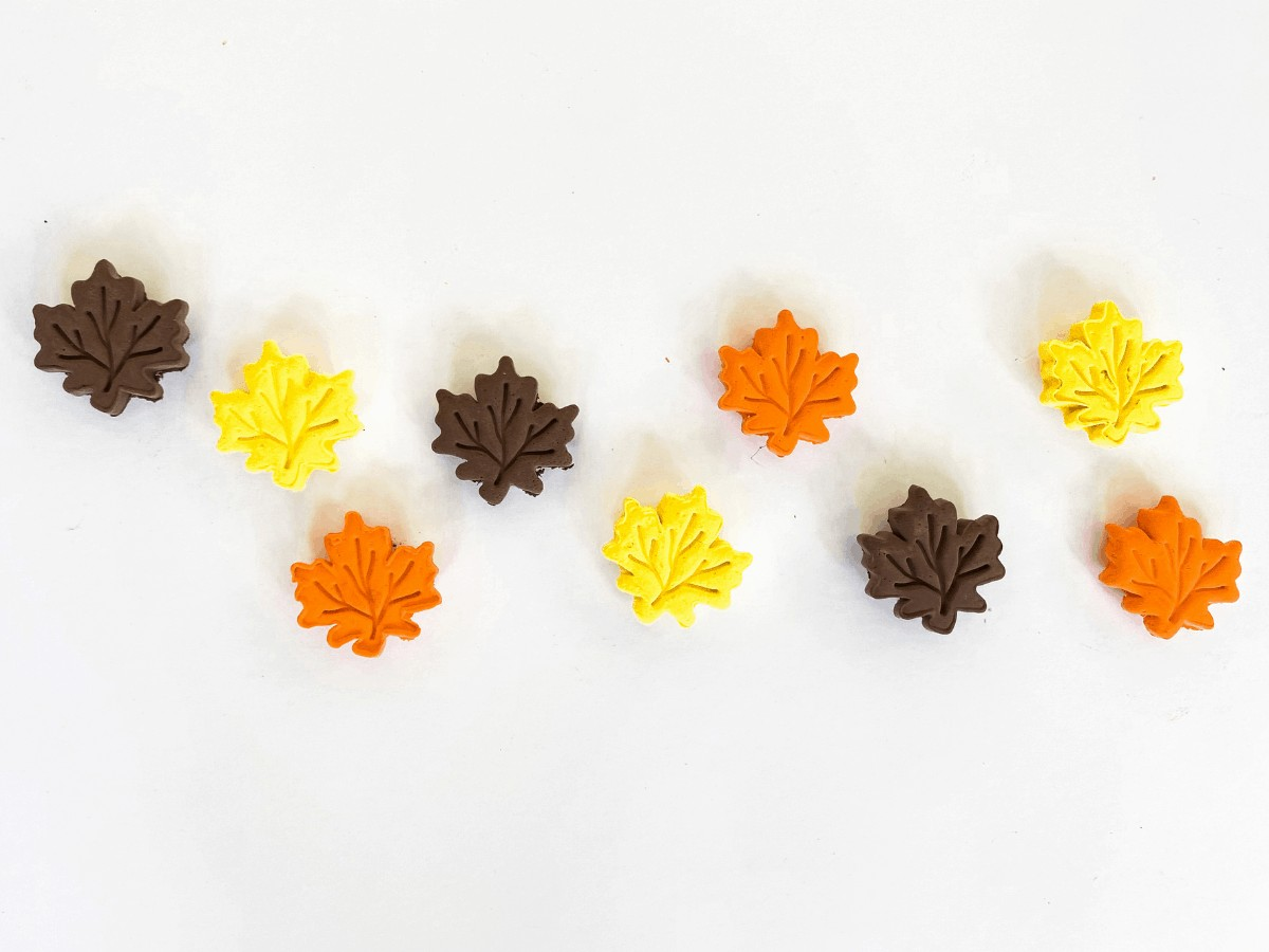 DIY fall magnets _ DIY clay magnets